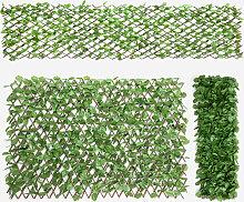 Costway Künstliches Pflanzenwand Hecke