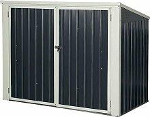 COSTWAY Muelltonnenbox 173 x 97x 134 cm