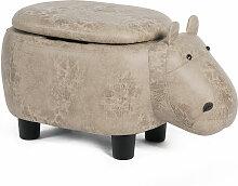 Costway Tierhocker Kinderhocker Sitzhocker mit