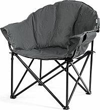 Costway Übergroßer Camping- Faltstuhl Kissen