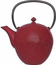 Cosy & Trendy 163036Pear Teekanne Gusseisen Rot