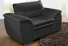 COTTA Sessel NaturLEDER® schwarz Ledersessel