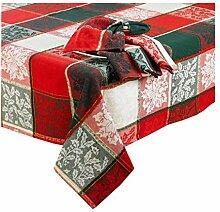 Cottage Classic Linens Weihnachts-Tischdecke für