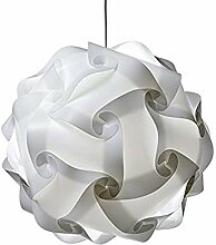 COTTILE DIY Puzzle Lampe Lampenschirm