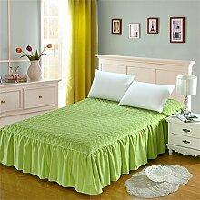 Cotton Bed Rock Bettdecke Bett Abdeckung Single Verdickung Plus Baumwollbettwäsche Bett Covers ( farbe : # 9 , größe : 120*200cm )