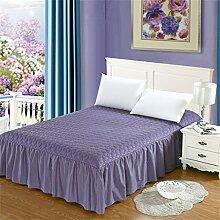 Cotton Bed Rock Bettdecke Bett Abdeckung Single Verdickung Plus Baumwollbettwäsche Bett Covers ( farbe : # 10 , größe : 180x200cm )