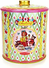 COTTON CANDY Nostalgie Dose TEATIME Cookie Tin große KEKSDOSE