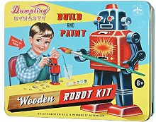 "Cotton Candy Roboter Baukasten in Nostalgie Dose ""Robot Kit"" Jungen Bauset/Bastelse"