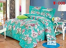 Cotton four sets of bed linen cover 1.2M Twin King four seasons