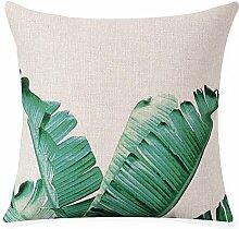 cotton pillow cushion,between the model sofa decoration pillowcase-B 53x53cm(21x21inch)VersionA