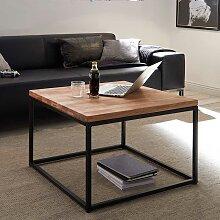 Couch Beistelltisch aus Asteiche Massivholz