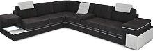 Couch Wohnlandschaft FILIPPO - Stoffsofa L-Form -