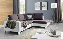 Couchgarnitur Couch BARRI mit Schlaffunktion Sofa