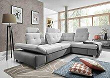 Couchgarnitur Couch Cremona 3fbl + osbp