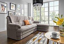 Couchgarnitur Couch DUBAI 3FBLOSBP Sofa