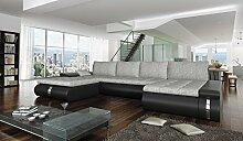 Couchgarnitur FADO LUX Sofa Eckcouch Schlaffunktion Couch Polsterecke Ecksofa