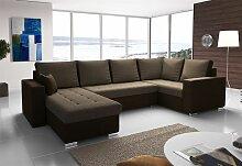Couchgarnitur FANO mit Schlaffunktion Otto..Links