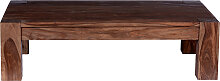 Couchtisch 130x85 cm Sheesham in natur