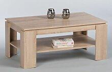Couchtisch 16723 Wohnzimmertisch Tisch Eiche Sonoma