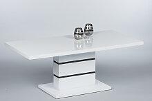 Couchtisch 16762 Wohnzimmertisch Tisch Weiß
