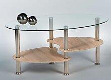Couchtisch 16777 Wohnzimmertisch Tisch Glastisch