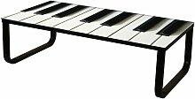 Couchtisch 16790 Wohnzimmertisch Tisch Motiv Piano