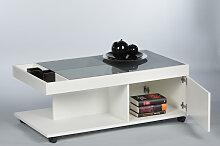 Couchtisch 16793 Wohnzimmertisch Tisch Weiß Matt