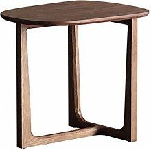 Couchtisch aus Holz, runder Nachttisch,