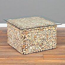 Couchtisch DRIFTWOOD Natural 70x70cm Treibholz &
