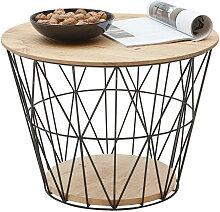 Couchtisch Rund Holz Gunstig Online Kaufen Lionshome
