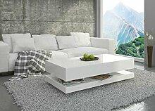 Couchtisch Hochglanz Weiß Wohnzimmer Tisch
