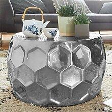 Couchtisch HONEYCOM 60x36x60 cm Aluminium