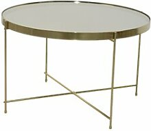 Couchtisch Lacourse ModernMoments Farbe: Gold