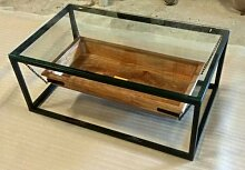 Couchtisch Lounge-Tisch Filippa Kette Mango-Holz