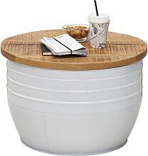 Wohnzimmertisch Rund Weiß günstig online kaufen | LionsHome
