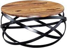 Couchtisch MANUR 60x30x60 cm Sheesham Massivholz /