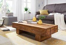 Couchtisch Massiv-Holz Sheesham 120cm breit Design