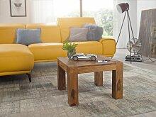 Couchtisch Massiv-Holz Sheesham 60 cm breit