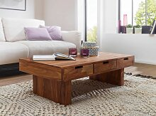 Couchtisch Massivholz Sheesham Design