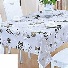 Couchtisch mat/wasserfeste einweg-tischdecken/kunststoff tischdecke-H 137x200cm(54x79inch)