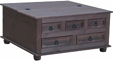 Couchtisch Myers Union Rustic Farbe: Kolonial
