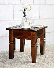 Couchtisch quadratisch Beistelltisch 45x45cm Holz