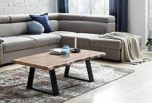 Couchtisch Tisch Baumstamm ULANA 115x60x40 cm Holz