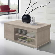 Couchtisch Tischplatte hochklappbar Sonoma Eiche