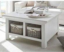 Couchtisch WINGST-61 Truhen-Tisch im Landhaus Stil
