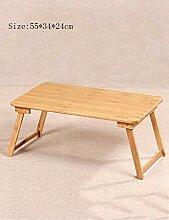 Couchtische Bambusbett mit Laptop-Schreibtisch