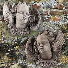 Country Garden Engelpaar links und rechts