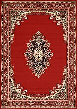 Country Traditioneller Mashad Bereich Teppich, rot, 7 x 10