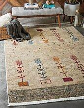 Country Tribal Tribal Bereich Teppich, cremefarben, 10 x 13
