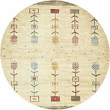 Country Tribal Tribe Bereich Teppich, cremefarben,